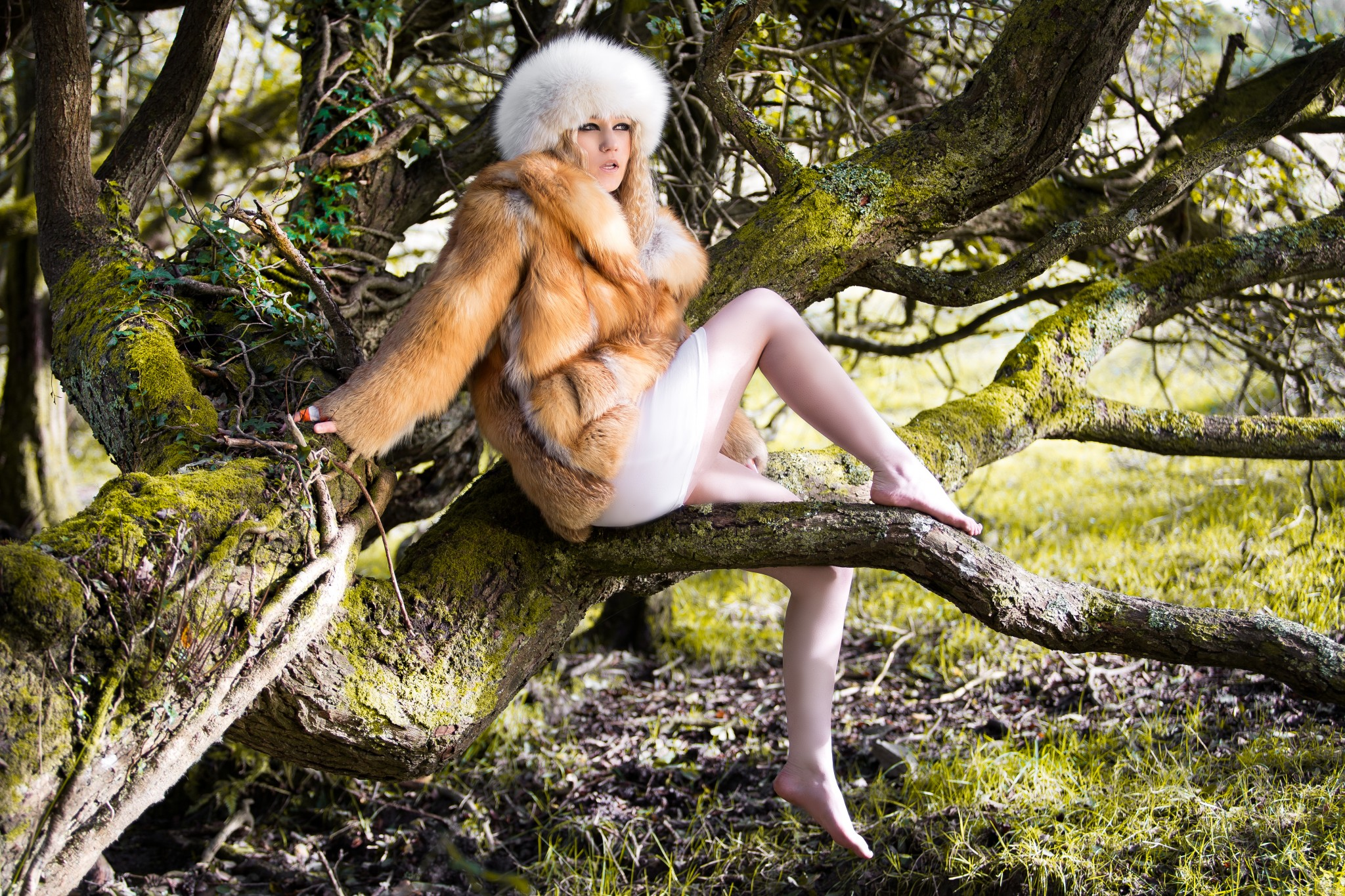 Vintage Remodelled Fur Coat
