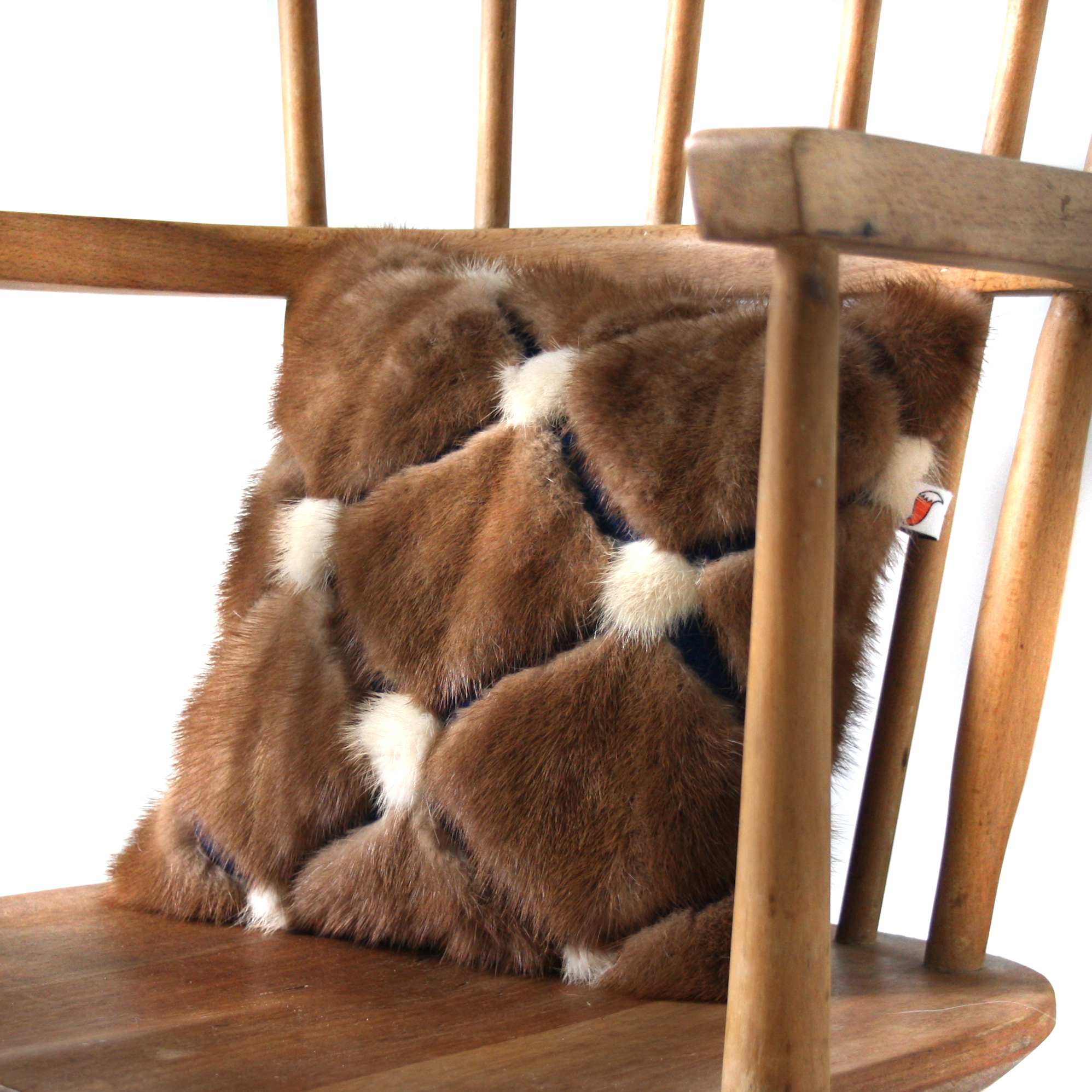 Recycled Mink Cushion