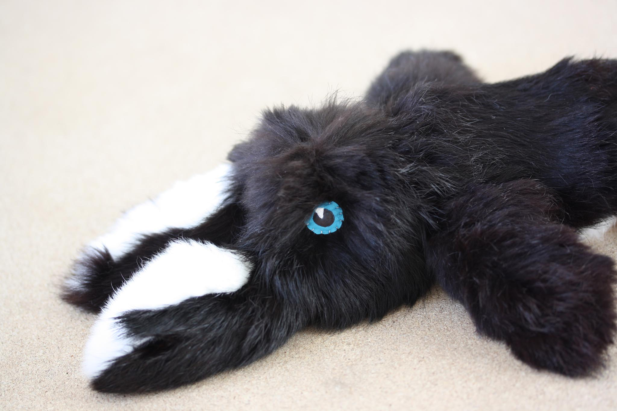 Real Rabbit Fur Bunny