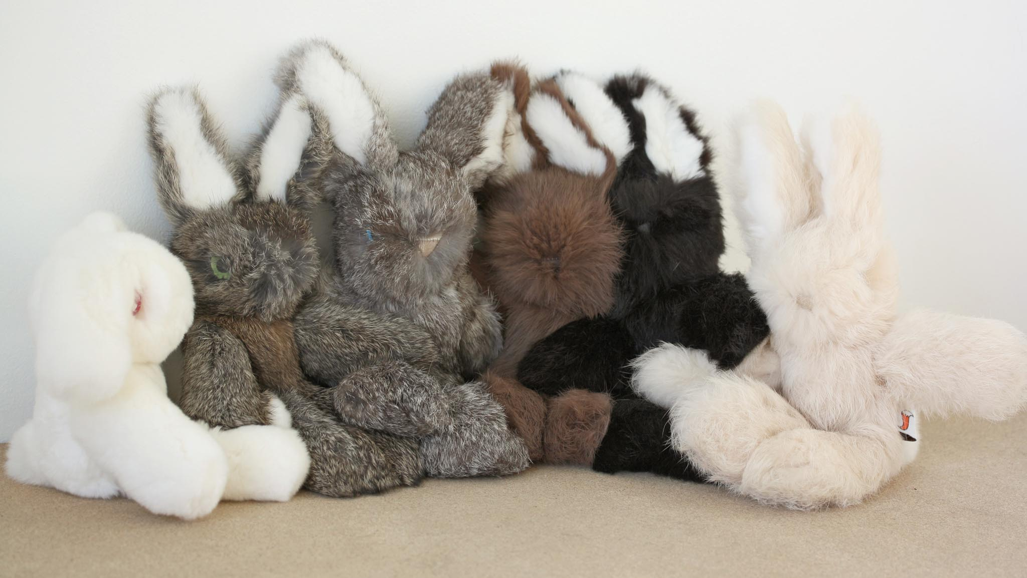 Real Rabbit Fur Bunny