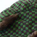 Vintage Mink Wool Trapper Hat Outer