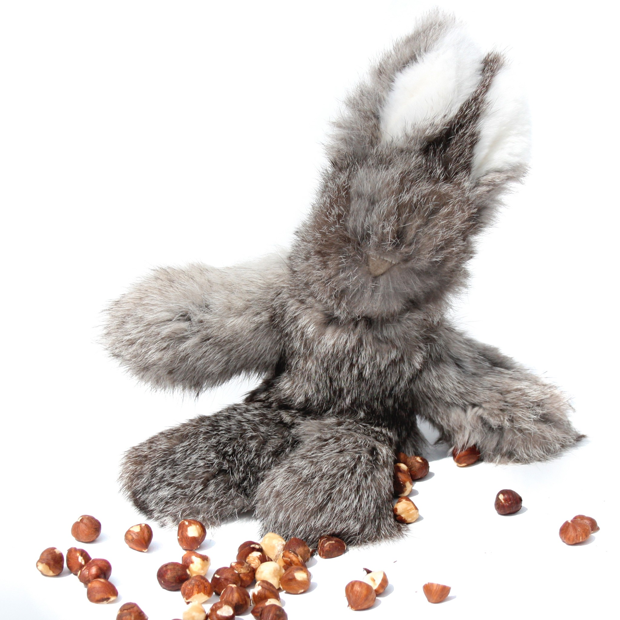 Hazelnut Rabbit Fur Bunny