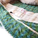 Welsh Wool Hooded Scarf