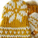 Chunky Knit Lined Mittens