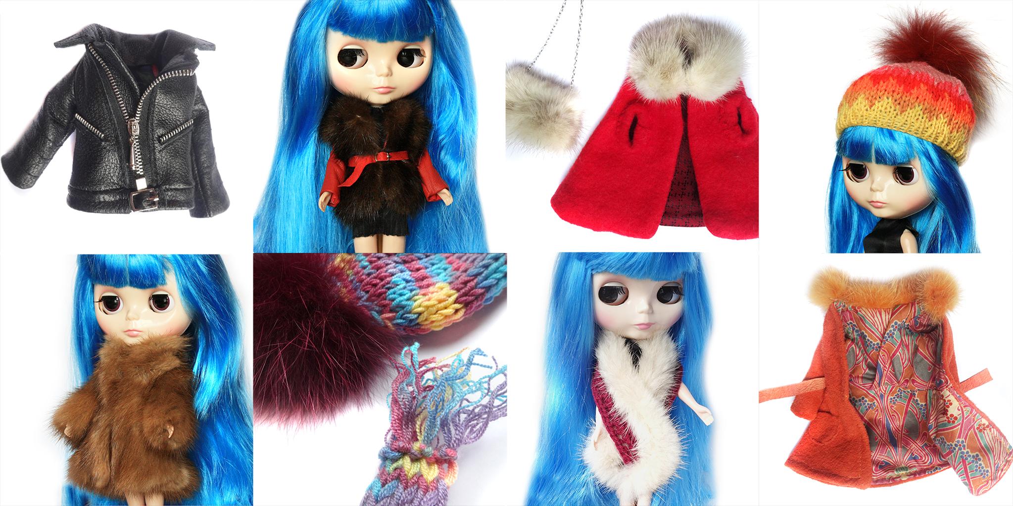 Barbie Blythe Doll Fur Ffwr